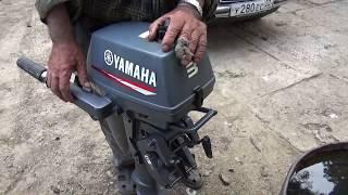 Лодочный мотор Ямаха 3 ,непонятная поломка .