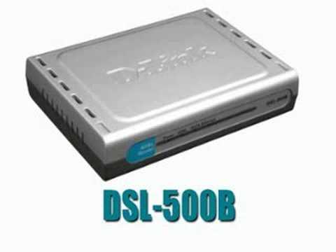 D-Link Modem ADSL