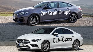 2020 BMW 2 Series Gran Coupe vs 2020 Mercedes CLA Class