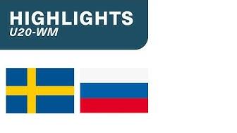 Schweden vs. Russland 4:5 n.V. - Highlights U20-WM   Halbfinal
