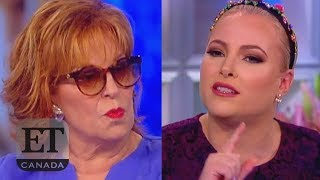Meghan McCain Calls Joy Behar A 'B****'