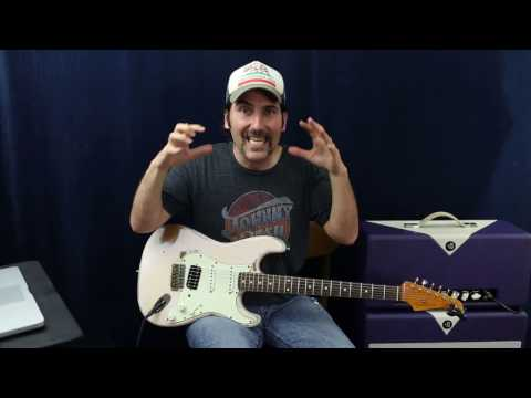 Tricks To Soloing In The Pocket - Guitar Lesson - Blues Rock Soloing - Free Drum Track