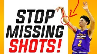 Number 1 Reason You're Missing Shots: How To Shoot A Basketball