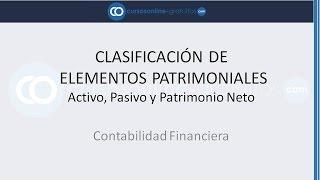 Introducción a la Contabilidad: Identificar Activo, Pasivo y Patrimonio Neto