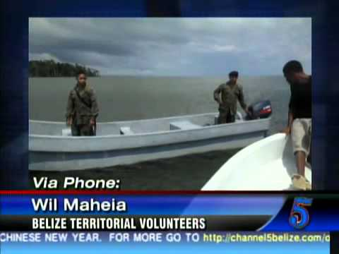 Territorial Volunteers Encounter Illegal Guatemalan Fishermen Near Sarstoon