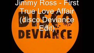 Jimmy Ross - First True Love Affair (Eddie Tour Edit)
