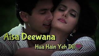 Aisa Deewana Lyrical Video Song || Dil Maange More || Sonu Nigam || Shahid Kapoor, Tulip Joshi