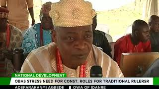 Ondo Obas canvass special roles for Monarchs