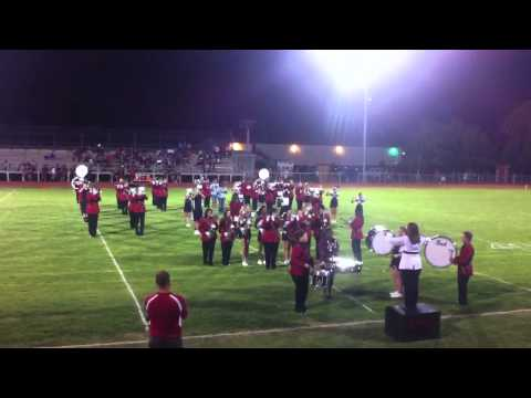 Watonga High School Marching Band - Edge of Glory Halftime Show