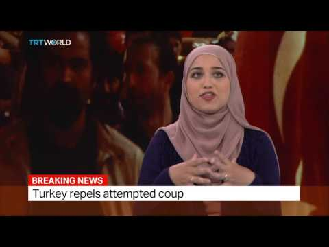 Soraya Salam, News Programme Editor talks about demonstrations against coup attempt in Istanbul