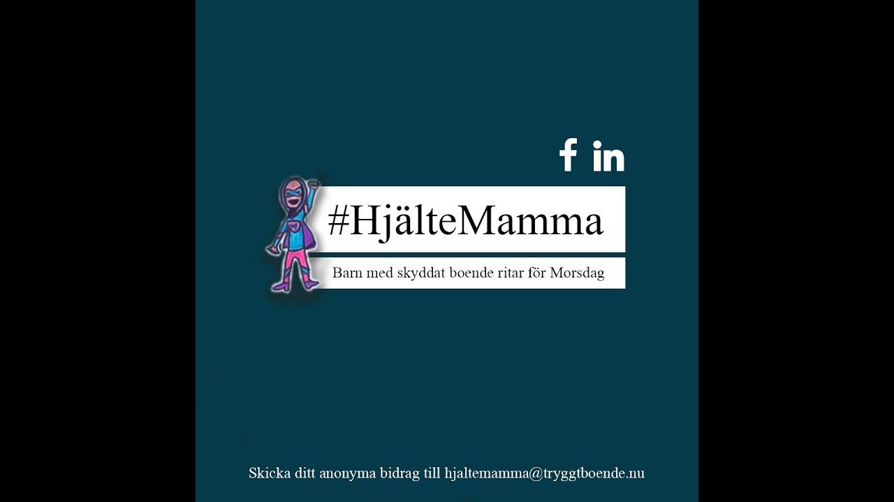 #HjälteMamma - För utsatta mammor på Morsdag