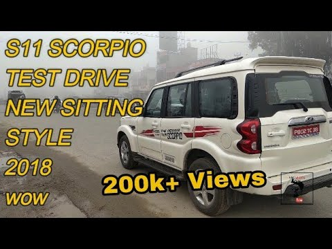 Scorpio S11 | Mahindra | 2018 | New Sitting | Test Drive | FEATURE | SPECIFICATION | SUV | VBO Vlogs