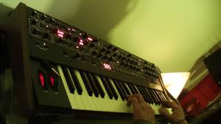 prophet6 alternate tuning 15, harry partch ,11 limit 43 note-micro tonal a