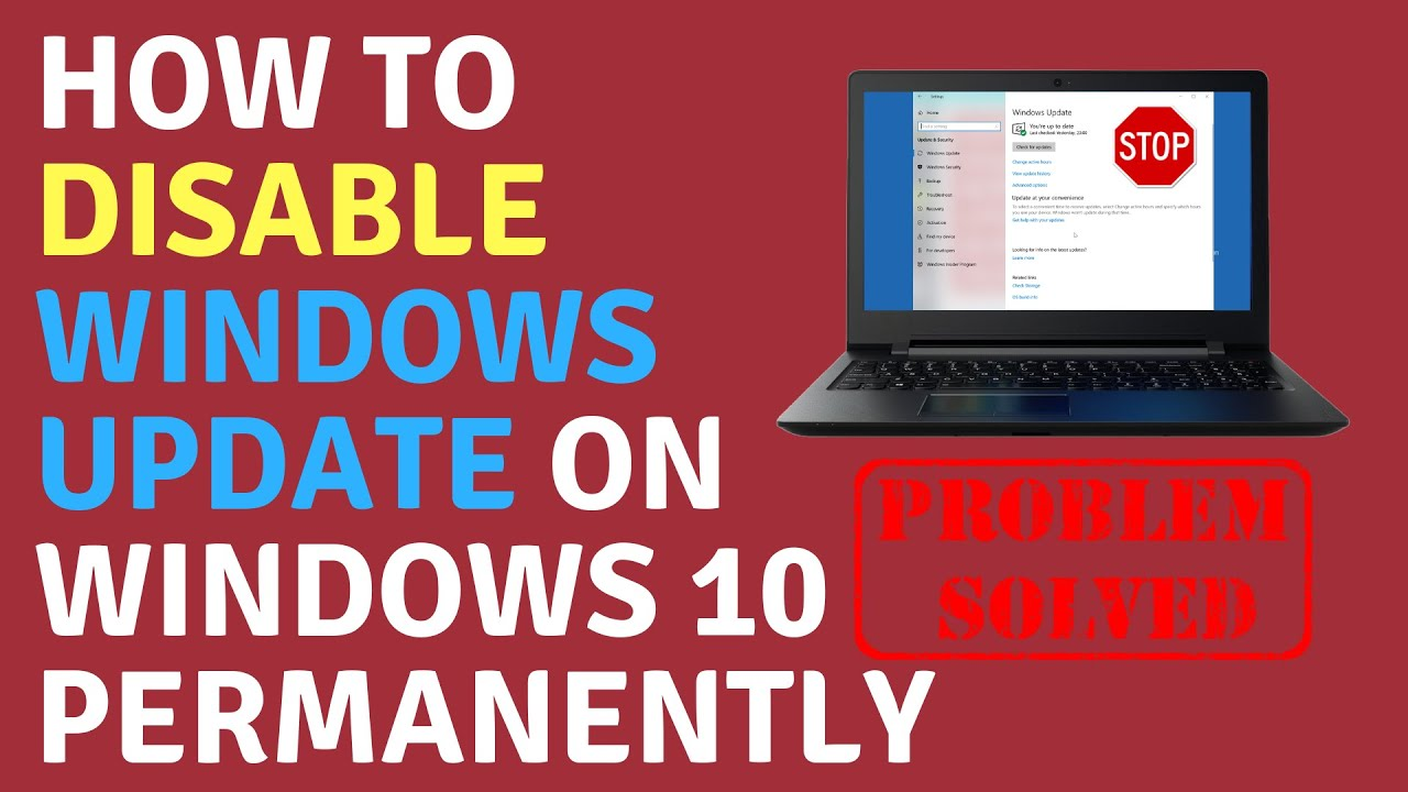 How to Disable Windows Update on Windows 10 Permanently