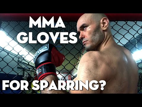 Why Can't I Spar With MMA Gloves?