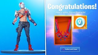 "The MAX STAGE ""X-LORD SCAVENGER"" SKIN in Fortnite! (X-LORD SCAVENGER MAX Battle Pass Skin)"