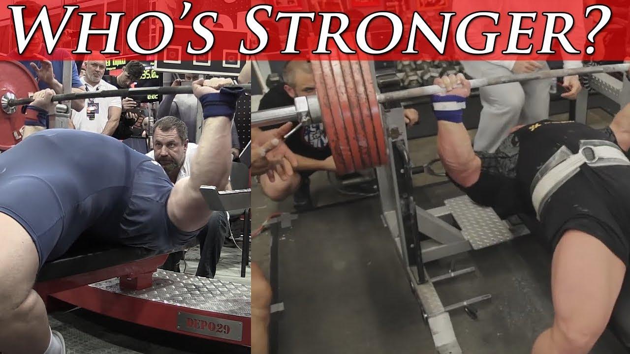 Kirill Sarychev Vs Eric Spoto! Arching in the Bench Press