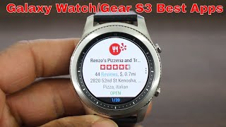 Top Gear S3/Gear Sport  Apps You Must Download 2018