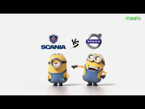 Scania vs Volvo Minions Style ( Funny )
