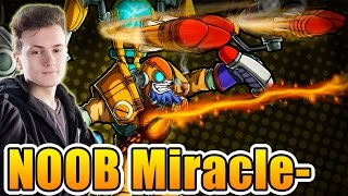 Miracle- Dota 2 [Tinker] SEA Ranked Match - LOL, Fuck Miracle-, He's NOOB