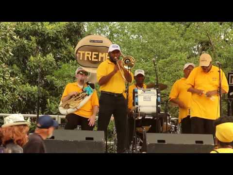 New Orleans' Treme Brass Band - Jazz in the Park Treme Crab Fest