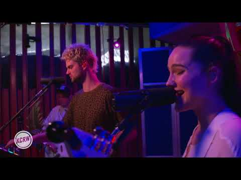 Sofi Tukker performing