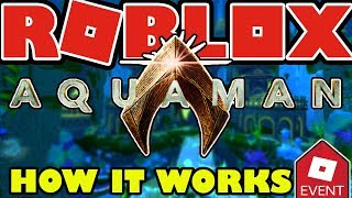 [EVENT] HOW THE AQUAMAN EVENT WORKS IN ROBLOX - Trials, Arena, Badges and Everything Explained
