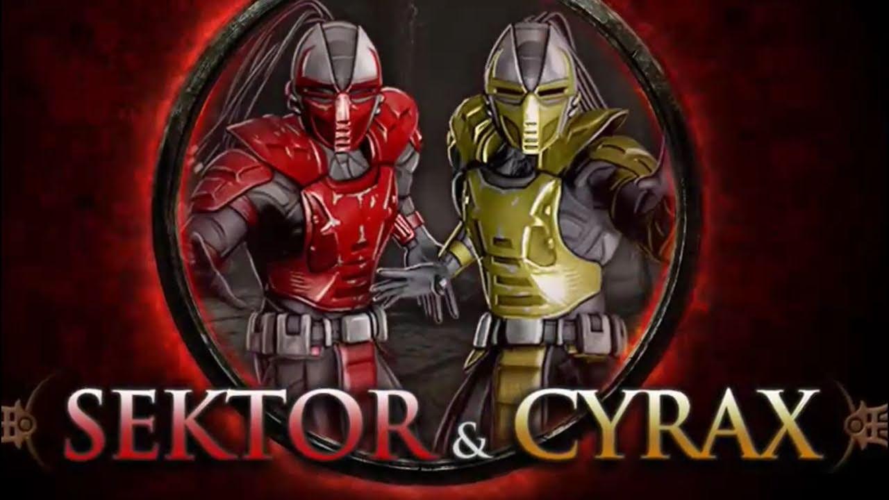 Mortal Kombat 9 - Klassik Sektor & Cyrax DLC Gameplay ...
