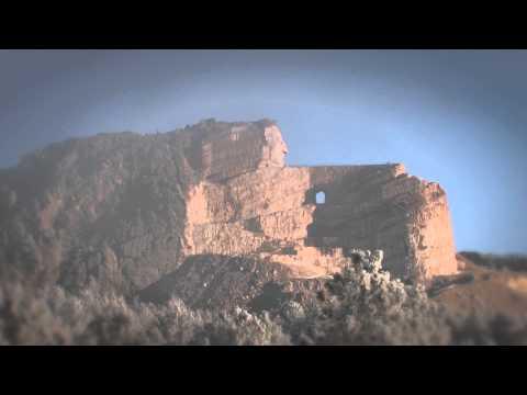 Crazy Horse Memorial Fog