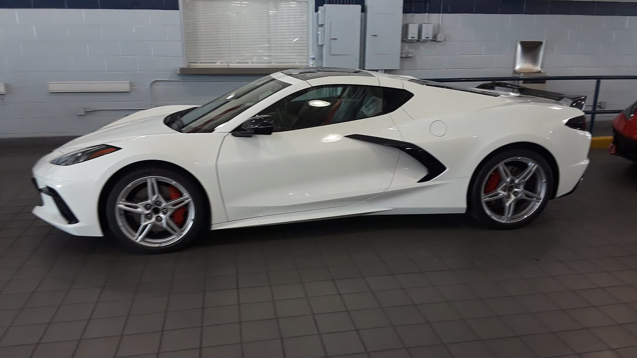 2020 Corvette Just Arrived In Charlotte Nc At Rick Hendrick City Chevrolet Dealership Youtube