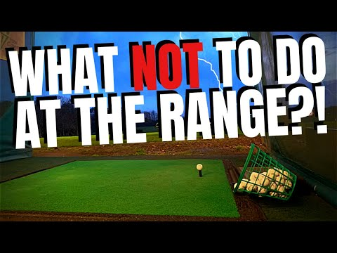 What NOT To Do At The Driving Range!