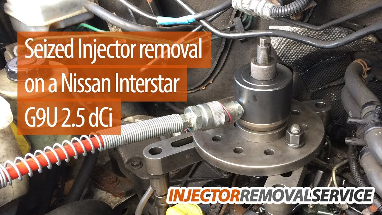 Air Conditioning Not Working In Car >> Seized/Stuck Diesel Injector Removal - One of our Hydraulic Tools in Action! - London - YouTube