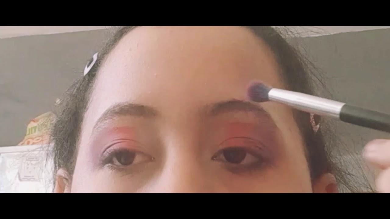 Maquillandose con Elizabeth #3