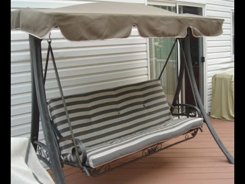 Martha Stewart Patio Swing Cushions Seat Support And