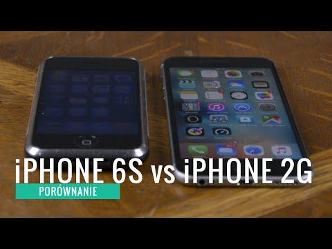 iPhone 6S vs iPhone 2G porównanie PL