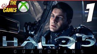 Прохождение Halo 5: Guardians на Русском [XOne] - #1 (Сама Эпичность)