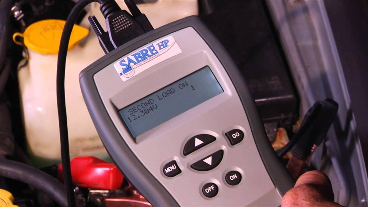 Handheld Battery Tester - Sabre HP 3168