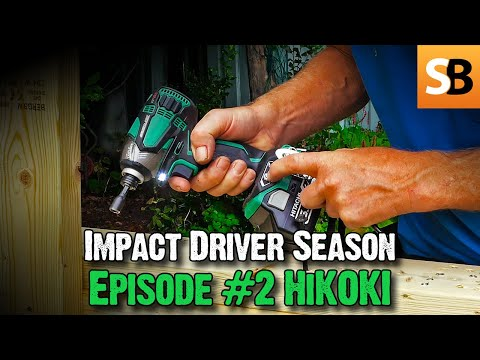 Hitachi WH18DBDL2 Impact Driver Review - Roundup #2