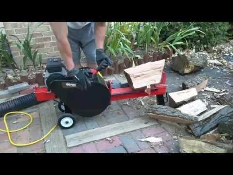Generac 10 ton kinetic electric log splitter
