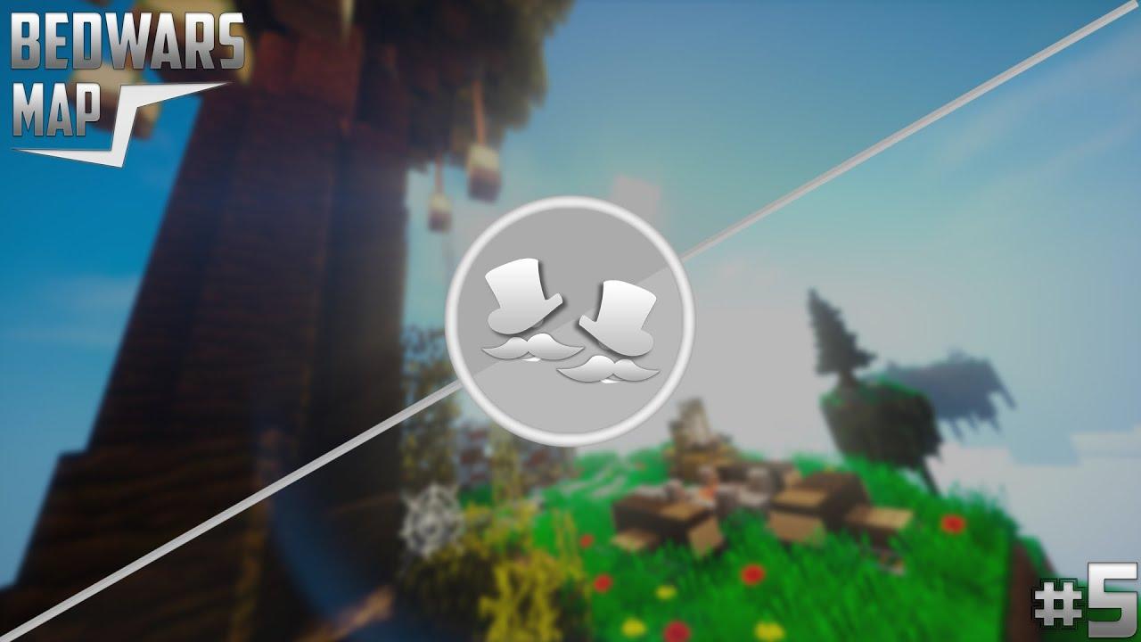 BEDWARS Map DOWNLOAD Camping Minecraft P Made By - Minecraft spielerkopfe erstellen
