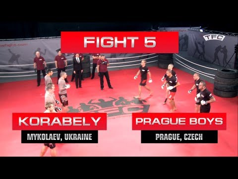 Fight 5 of the TFC Event 1 Prague Boys (Prague, Czech Republic) vs Korabely (Mykolaev, Ukraine)