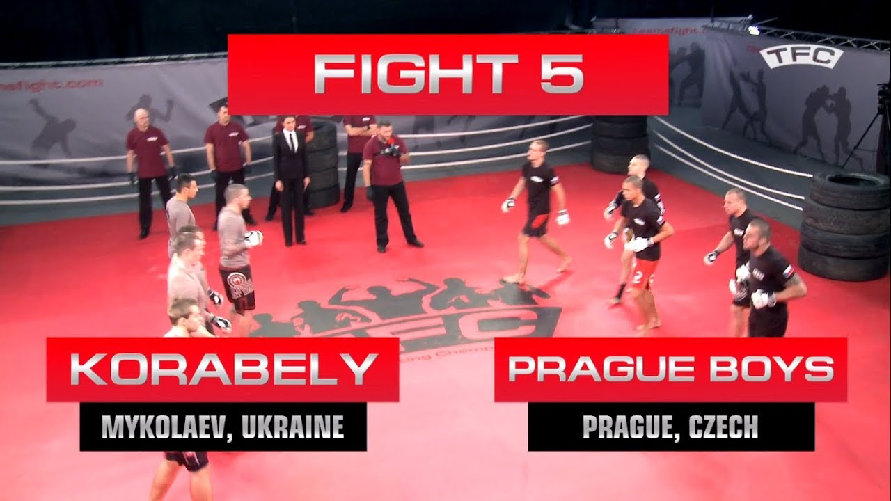 Download Fight 5 of the TFC Event 1 Prague Boys (Prague, Czech Republic) vs Korabely (Mykolaev, Ukraine)