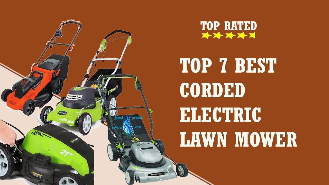 best corded electric lawn mower best cheap corded. Black Bedroom Furniture Sets. Home Design Ideas