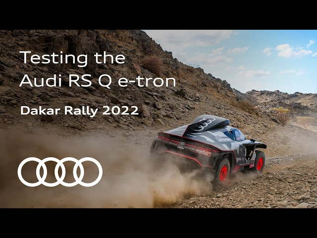 The Road to Dakar | Putting the Audi RS Q e-tron through its paces