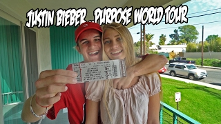 SURPISING MY GIRLFRIEND WITH JUSTIN BIEBER TICKETS!!! thumbnail