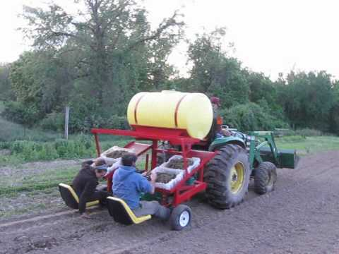 Water Wheel Transplanter!
