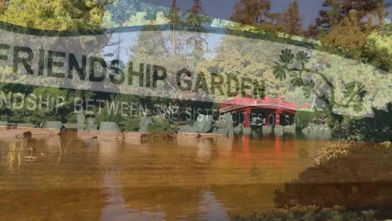 Japanese Friendship Garden in San Jose - YouTube
