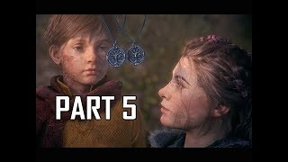 A Plague Tale Innocence Walkthrough Part 5 - Our Home (Gameplay Commentary)