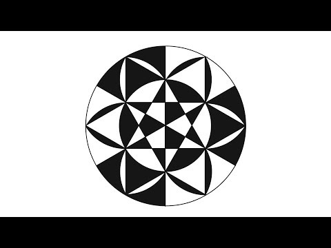 THE ART Of DRawing Circles ( geometrical shapes in