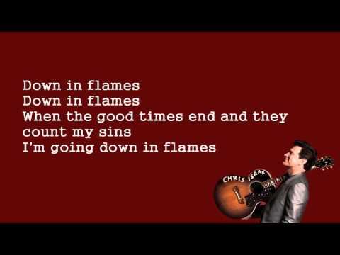 Chris Isaak - Down In Flames Lyrics (2015) HQ